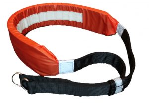 Picture of the The I C Brindle Survivor Strop for Man Overboard rescue procedures.