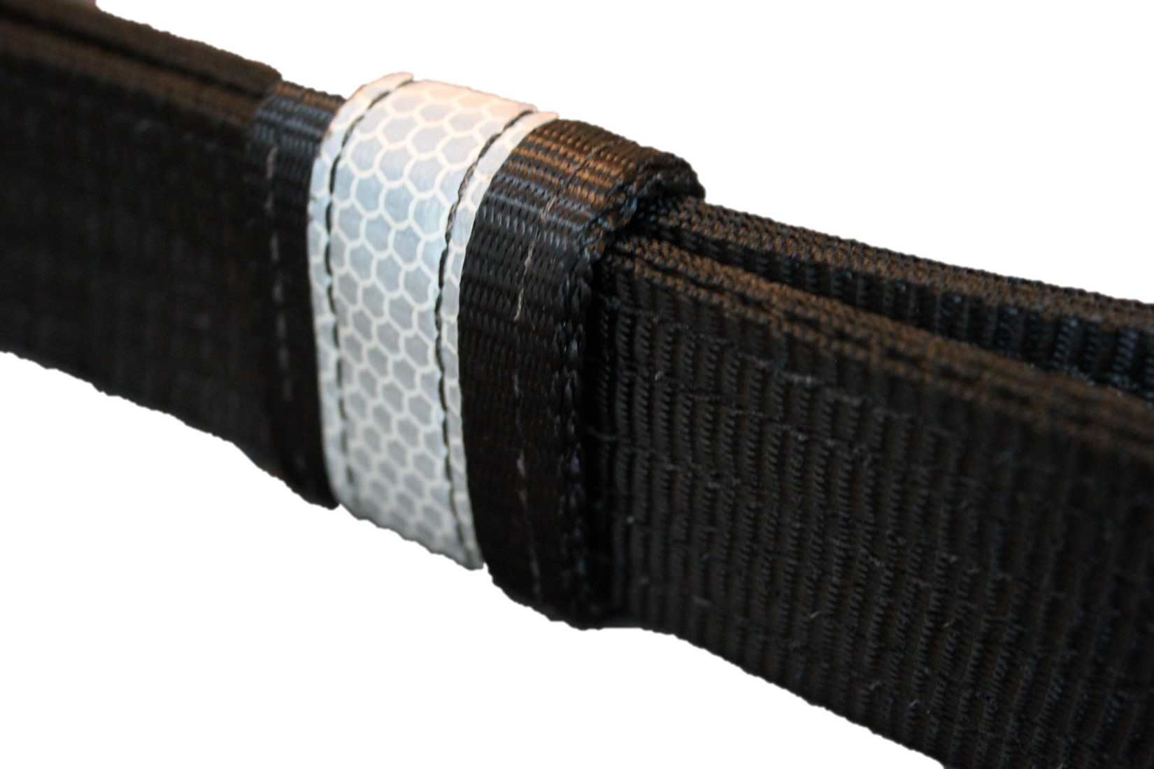 Picture of the I C Brindle Survivor strop adjustment woggle on a white background