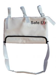 Picture of the Lalizas Safe Up Emergency ladder on a white background