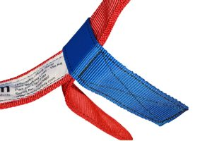 Picture of the Kim Helictoper Lifting Strop woggle on a white background